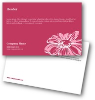 Pink Daisies Postcards