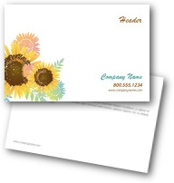 Shining Sunflowers Postcards