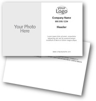 Text & Logo Postcards